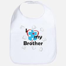 I Love My Brother - Autism Bib