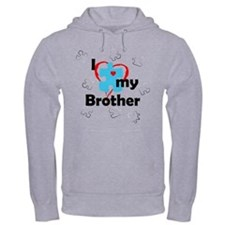 I Love My Brother - Autism Hoodie