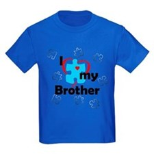 I Love My Brother - Autism T