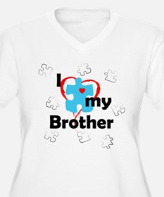 I Love My Brother - Autism T-Shirt