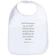 MATTHEW  17:15 Bib