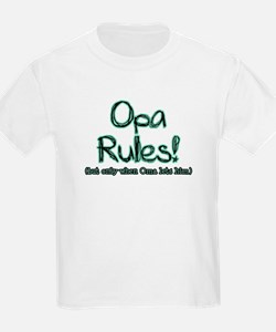 Opa Rules when Oma Lets Him T-Shirt