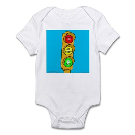 Fired Up and Ready to Go Infant Bodysuit