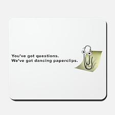 Paperclip Mousepad