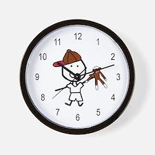Boy & Monkey Wall Clock