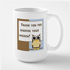 Teacher Appreciation Large Mug