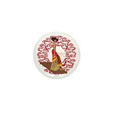 Make My Geisha Funky Mini Button