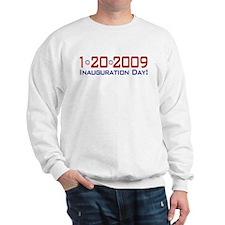 1-20-2009 Obama Inauguration Day Sweatshirt