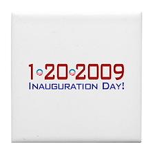 1-20-2009 Obama Inauguration Day Tile Coaster