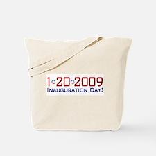 1-20-2009 Obama Inauguration Day Tote Bag