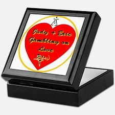 Gambling on Love Keepsake Box