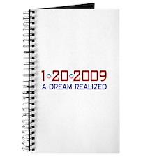 1-20-2009 Obama Dream Realized Journal
