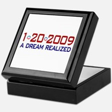 1-20-2009 Obama Dream Realized Keepsake Box