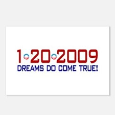 1-20-2009 Obama Dream Postcards (Package of 8)