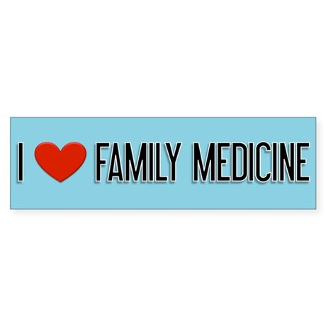 Family Doctor Gift Bumper Sticker