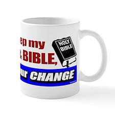 I'll Keep My Guns and Bible Mug