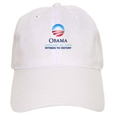Obama Witness To History Baseball Cap