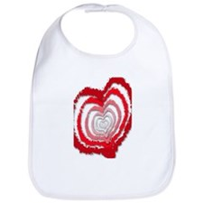 heart print Bib
