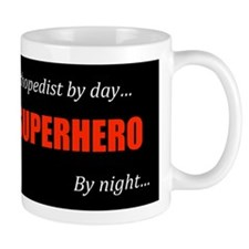 Superhero Orthopedist Coffee Cup