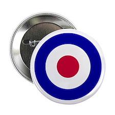 """RAF-Royal Air Force 2.25"""" Button"""