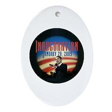 Inaugural Logo Oval Ornament