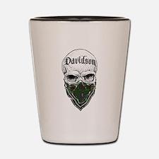Davidson Tartan Bandit Shot Glass