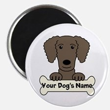 Personalized Curly-Coated Retriever Magnet