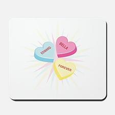 Bella & Edward Valentine Mousepad