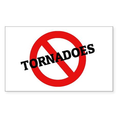 Anti Tornadoes Rectangle Sticker