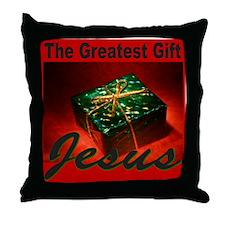 JESUS CHRISTMAS Throw Pillow