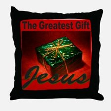 JESUS CHRISTMAS Throw Pillow