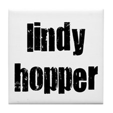 Lindy Hopper Tile Coaster