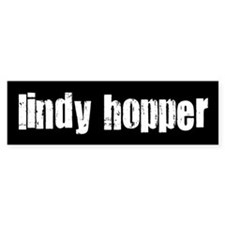 Lindy Hopper Bumper Bumper Sticker