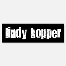 Lindy Hopper Bumper Car Car Sticker