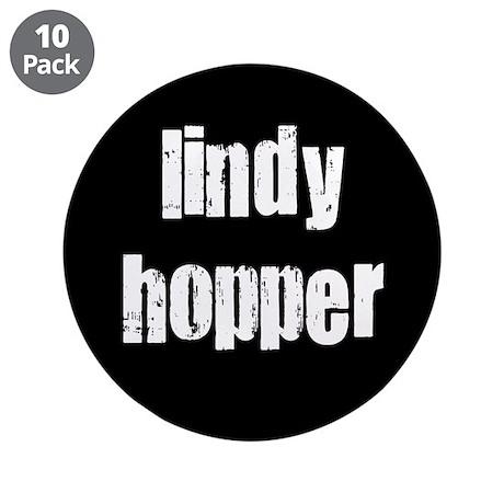 "Lindy Hopper 3.5"" Button (10 pack)"
