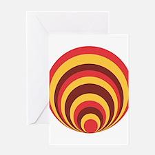 Unique Concentric Greeting Card