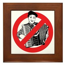 SAY NO TO MIMES Framed Tile