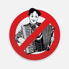 SAY NO TO MIMES Ornament (Round)