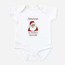 Jeanne Christmas Infant Bodysuit