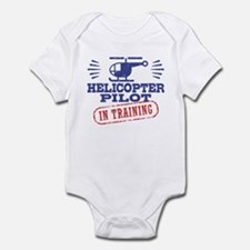 Helicopter Pilot In Training Infant Bodysuit