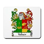 Valuev Family Crest Mousepad