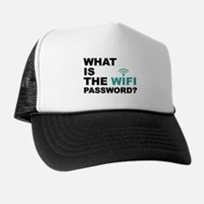 What is the Wi-Fi password Trucker Hat