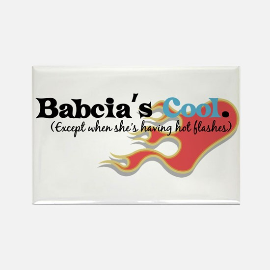 Babcia's Hot Flashes Rectangle Magnet