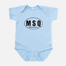 Misquamicut MSQ Beach RI Infant Bodysuit
