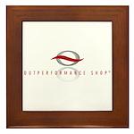 Outperformance Shop Framed Tile