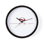 Outperformance Shop Wall Clock