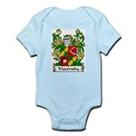 Viazemsky Family Crest Infant Creeper