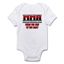 MMA - From the Crib to the Ca Infant Bodysuit