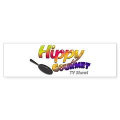 Hippy Gourmet Bumper Bumper Sticker