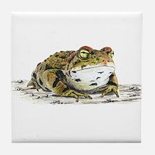 Western Toad Tile Coaster
